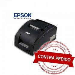 Epson TM-U220D-653 Impresora Punto de Venta Serial Negra Manual