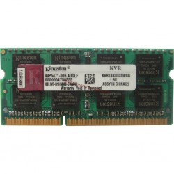 Kingston KVR1333D3S9/8G Memoria RAM DDR3 8 GB PC3-10600