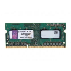 Kingston KVR13S9S8/4 Memoria RAM DDR3 4 GB PC3-10600