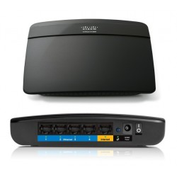 Linksys Router Inalámbrico E1200 N300 2.4 Ghz Wi-fi