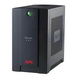 UPS APC BX650U-LM Back - 750 VA -120 V, AVR, USB