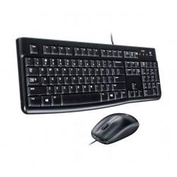 Logitech Combo Teclado Mouse Usb De Cable Mk120