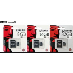 Kingston SDC10 Tarjeta de Memoria Flash con adaptador 8 GB/16 GB/32 GB