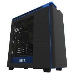 Nzxt Case Gaming H440 Negro Azul Media Torre Usb 3.0