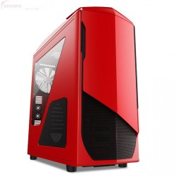 Nzxt Case Gamer Phantom 530 Rojo Full Tower