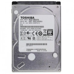 Toshiba Disco Duro Interno 750GB SATA 2.5 12mm P/Laptop