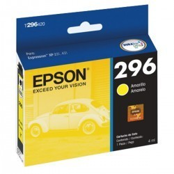 Epson Cartucho de Tinta 296 Amarillo