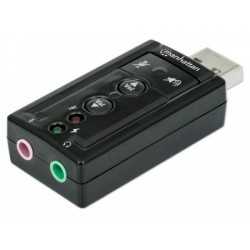 Manhattan Adaptador Audio Usb 7.1