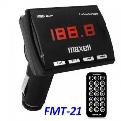 Maxell Adaptador Para Carro Fm Media Con Usb/sd