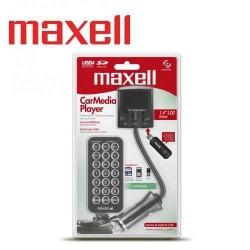Maxell Adaptador Para Carro Fm Media Con Usb