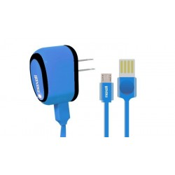 Maxell Adaptador A/C con Cable Flat USB Reversible a Micro USB - 6ft. MUSB-600