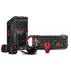 Xtech Power Gamer II (Case, Teclado, Mouse, Parlantes y Headset)