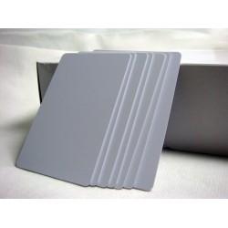 Carnet en Blanco para impresora inyección en PVC (100 unidades) PVC ID Cards Gafete