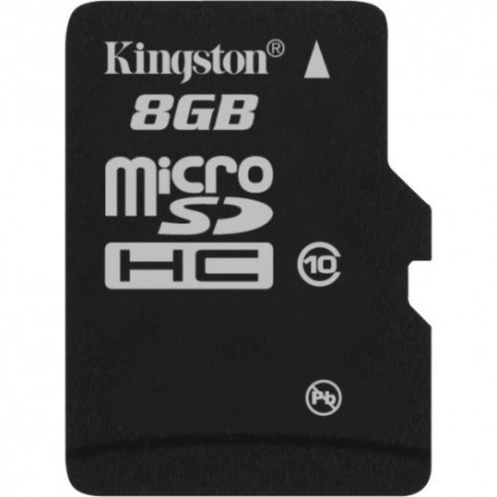 Kingston SDC10/8GB Tarjeta de Memoria Flash con adaptador 8 GB