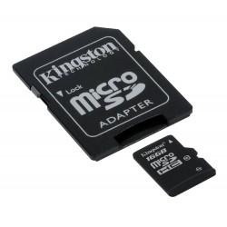Kingston SDC10/16GB Tarjeta de Memoria Flash con adaptador 16 GB