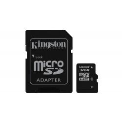 Kingston SDC10/32GB Tarjeta de Memoria Flash con adaptador 32 GB