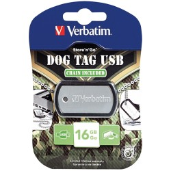 Verbatim Llave Maya 16 GB Dog Tag