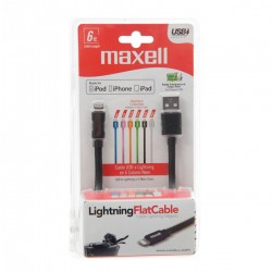 Maxell Cable Plano Para iPhone 6 Pies