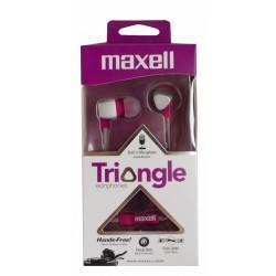 Maxell Audífono Stereo Con Micrófono Triangular