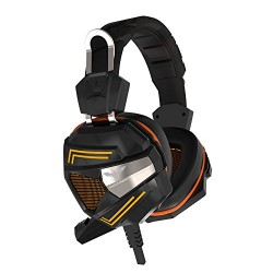 Havit HV-H2158U Headset Gaming USB 7.1 con microfono 3.5mm + USB Naranja-Negro