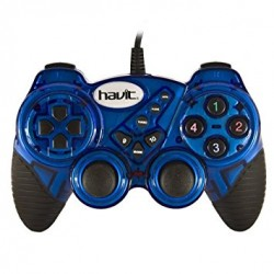 Havit HV-G92 Game Pad con Vibración para Juegos PS3 y PC Compatible