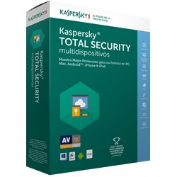 Kaspersky TMKSR-086 Total Security 3+1 Multidispositivos