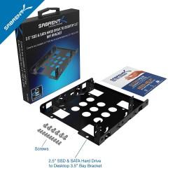 Sabrent Bk-hddh 2.5 A 3.5 Kit Montaje Ssd Dual