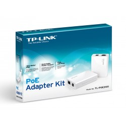 Tp Link Tl-poe200 Kit De Energía A Través Adaptador De Red
