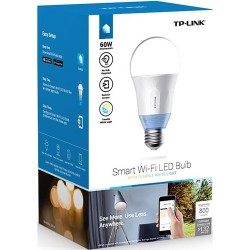 Tp Link Lb120 Smart Wi-fi A19 Led Bulb, Dimmable, Tunable Wh