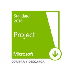 Microsoft Project 2016 Standard Licencia Descarga 1 Pc
