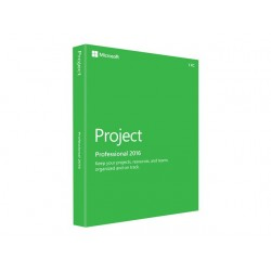 Microsoft Project Professional 2016 Licencia Descarga 1 Pc