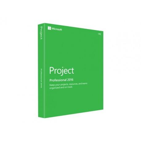 Microsoft Project Professional 2016 Licencia Descarga 1 Pc