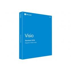 Microsoft Visio Standard 2016 Descarga Licencia 1 Pc
