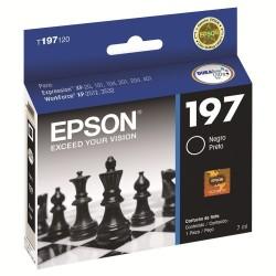 Epson Cartucho de Tinta 197 Negro