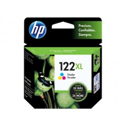 HP Cartucho Original 122XL Tricolor