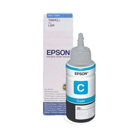 Epson Botella de Tinta 664 Cian 70 ml