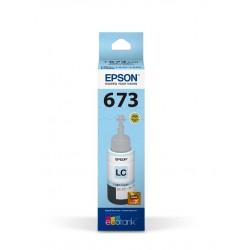 Epson Botella de Tinta 673 Cian Claro 70 ml