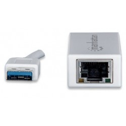 Manhattan Adaptador De Red Ethernet A Usb