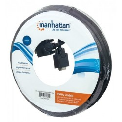 Manhattan Cable SVGA para monitor macho a macho 15 m